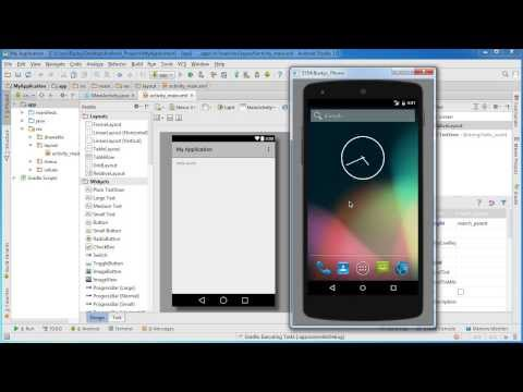 Android App Development for Beginners - 4 - Running a Simple App