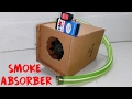 How To Make a Smoke Absorber Machine DIY easy way