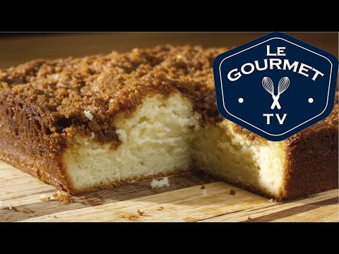 Vanilla Bean Coffee Cake - Recipe - LeGourmetTV
