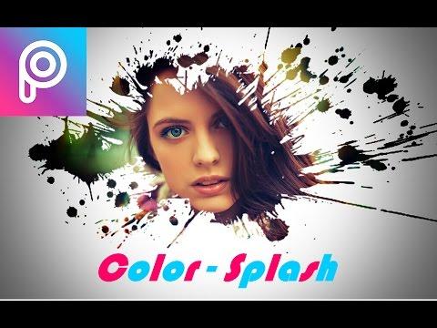 Picsart : Photo CB editing tutorial #2017 | color Splash