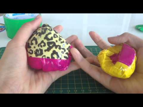DIY Duct Tape squishy