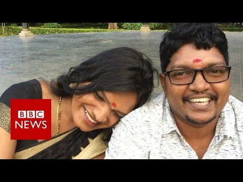 India's first complete transgender couple are hoping to marry - BBC News