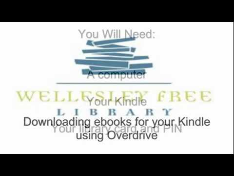 Downloading library ebooks for your Kindle with Overdrive