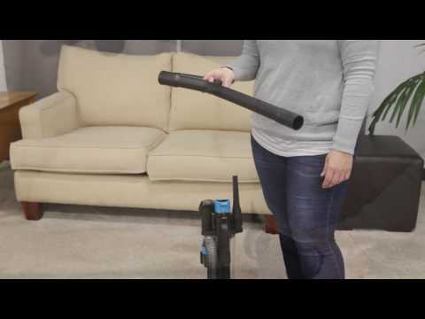 How to Use the PowerForce Compact Upright Vacuum | BISSELL