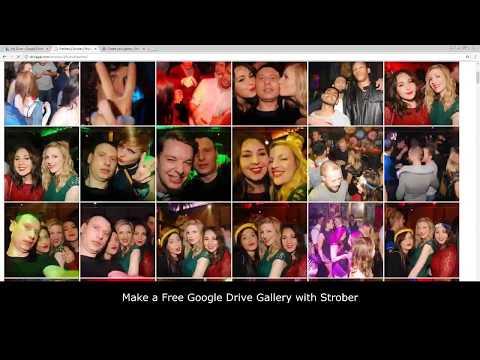 Make a FREE Google Drive Photo Gallery Website