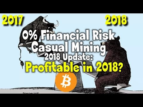 Beginner's Guide Update: Casual Mining with 0% Financial Risk –1 Year Review for 2018