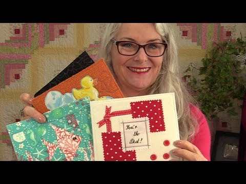 Personalize Quilted Post Cards