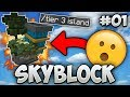 The Perfect Start + MEET Our Island MEMBERS!! - Minecraft SKYBLOCK Ep. 1 (SkyMetro)