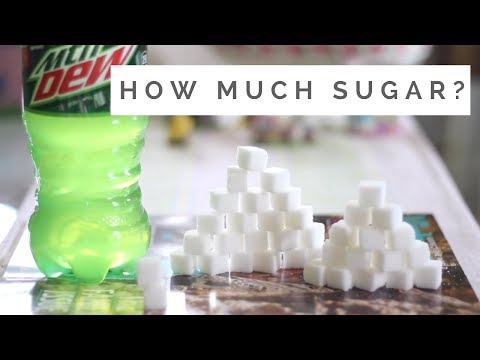 How Much Sugar is In Soda and Food? THIS MUCH
