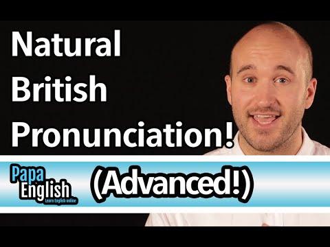 Advanced British Pronunciation - Speak like a native in 5 sounds