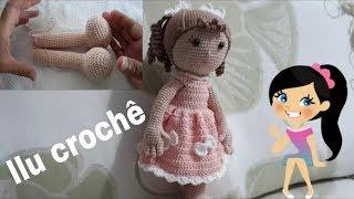 Amigurumi: Boneca Morena Rosa Minha mãe... - Sheilajuca.artes ... | 180x320