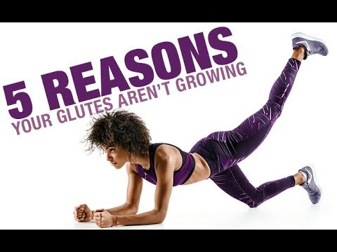 5 Reasons Your Glutes Aren't Growing (GLUTE GAINS SECRET!!)