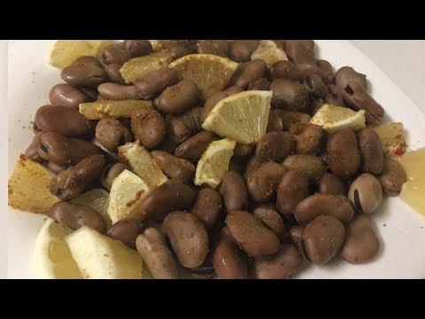 Lebanese Dry Fava Beans - تحضير فول التسالي في البيت