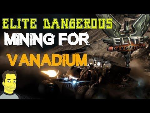 Elite Dangerous mining for Vanadium Collecting resources