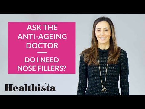 What are nose fillers? | Ask the anti-ageing doctor