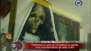 Cumpleaños Santa Muerte Tepito 2013: Cantan