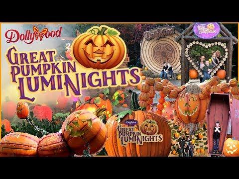 Dollywood Great Pumpkin Luminights Halloween & Great Harvest Fall Festival