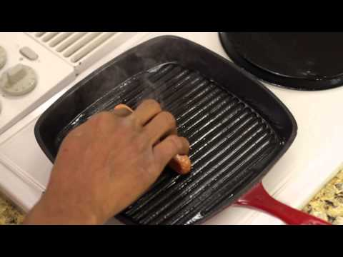 How to Pan-Fry a Hot Dog : Cook It Up!