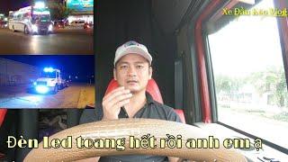 KHẨN - Luật giao thông đường bộ năm 2020 mới - Đèn Led Toang Hết | Xe Đầu Kéo Vlog #67
