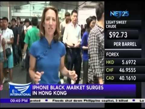 iPhone black market surges in Hong Kong