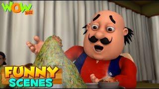 BEST SCENES of MOTU PATLU | FUNNY Cartoons in Hindi | Wow Kidz | Compilation 14