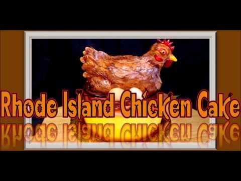 Rhode Island Red Chicken Cake