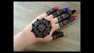 Eid Special Simple Easy Mandala Gol Tikki Henna Mehndi Designs For