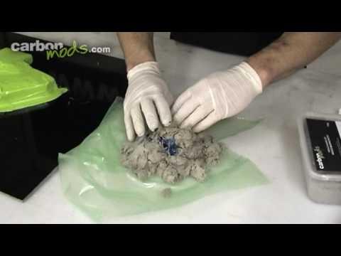 How to make a mould for a carbon fiber (fibre) part