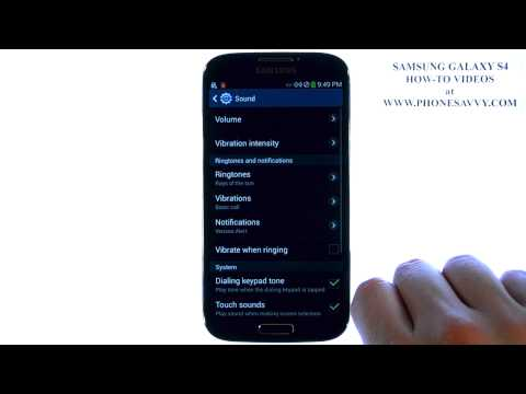 Samsung Galaxy S4 - How Do I Change Text Message or Notification Ringtone