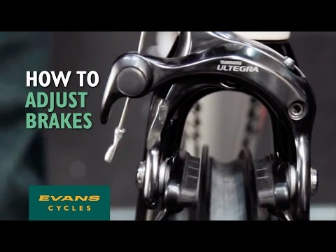 How to adjust brakes