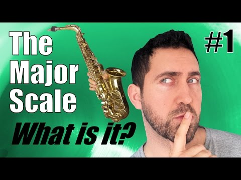 Learn the MAJOR SCALE on Alto Saxophone! - What is it? Explained!
