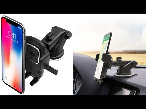 Car Mount Phone Holder Easy One Touch 4 Dashboard