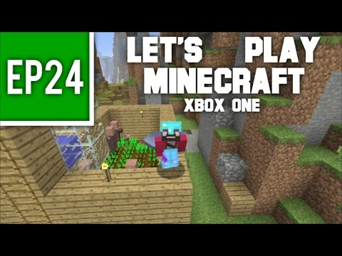 Let's Play Minecraft Xbox One - EP24: Easy Villager Breeding!