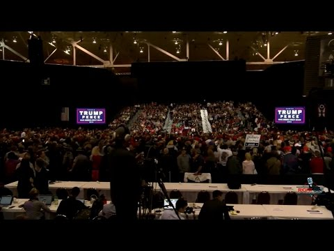 Full Speech: Donald Trump, Mike Pence HUGE Rally in Cleveland, OH 10/22/16