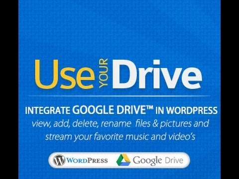 How to embadded Google drive with wordpress