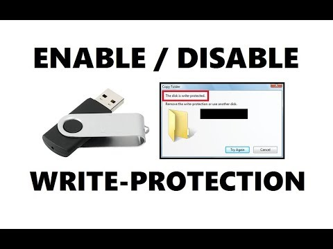 How to Enable or Disable Write Protection on Pen / USB Drive | Simple Method