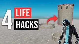 4 Hacks in Fortnite Creative