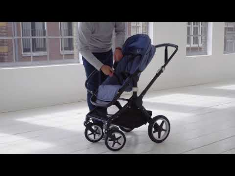 Using the harness and rotating carry handle | Bugaboo Fox