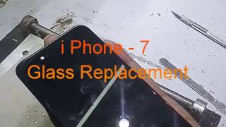 iPhone 7 Glass  Replacement  *EASY* Removal