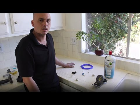 How to Install a Body Glove Water Filtration System