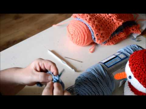 Cable scarf - Crochet - Tutorial - English