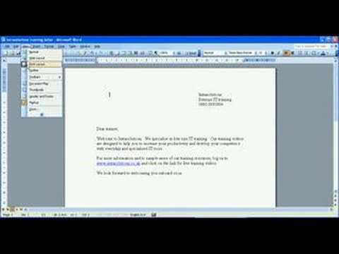 Adding the drawing toolbar to Microsoft Word
