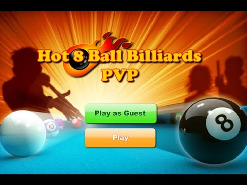 Hot 8 Balls Billiards PVP-Game Show