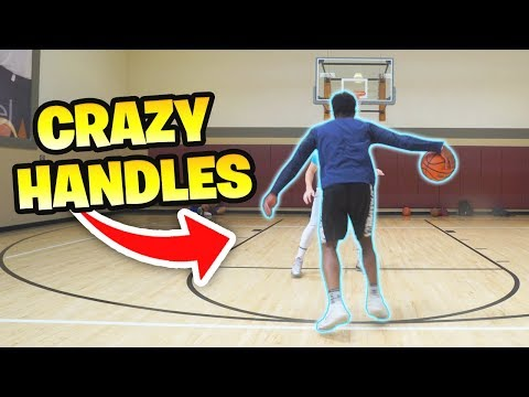 1 v 1 BASKETBALL vs #1 HIGHSCHOOL PG BRANDON WILLIAMS *CRAZY HANDLES*