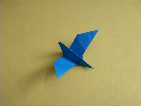 How to make a Paper Bird or an Origami Bird