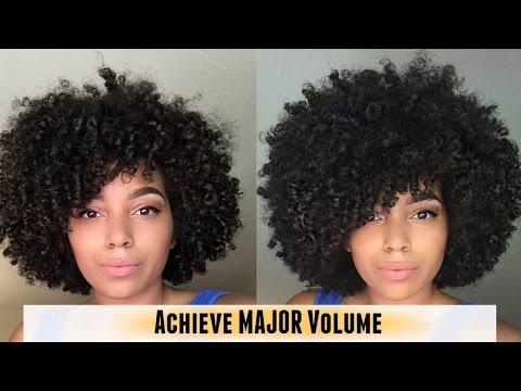 How I Achieve MAJOR Volume! | Natural Hair