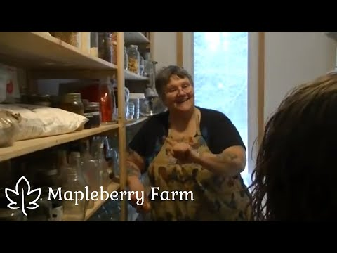 In the Pantry with Mrs. Volfie of OurHalfAcreHomestead | Visit | Part 4
