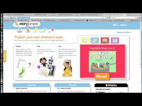 Story Jumper Tutorial - Creating a Digital Storybook