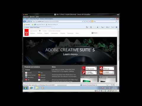 How To Update or Install Adobe Flash - Windows 7