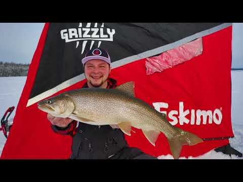 Ontario Lake Trout fishing by HANGLOOSE Outdoors